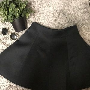 Black Tobi Skater Skirt